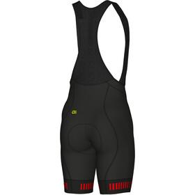 Alé Cycling Graphics PRR Strada Bib Shorts Heren, black-red